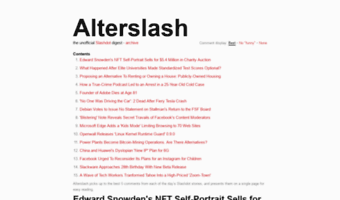 alterslash.org