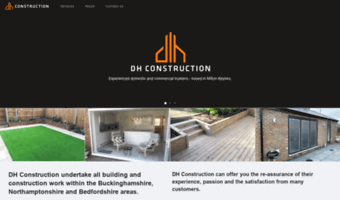 dhconstructionservices.co.uk
