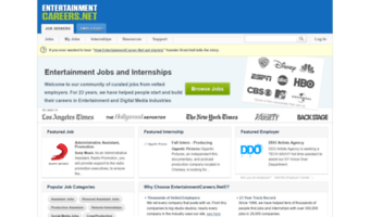 entertainmentcareers.net