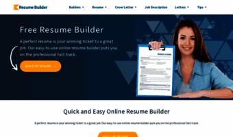 create professional resume online - Create Professional Resume Online