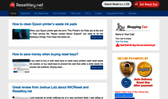 epson wic reset key download