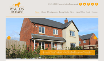 waltonhomes.co.uk