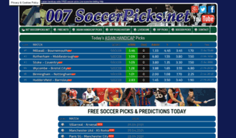 007soccerpicks net ▷ Observe 007 Soccer Picks News | Live