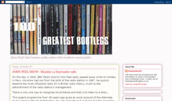 100greatestbootlegs blogspot com ▷ Observe 100 Greatest Bootlegs