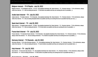 2iptv com ▷ Observe 2IPTV News | IPTV Channels And Download