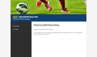 365 sports betting