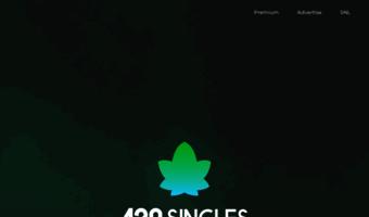 free marijuana dating site