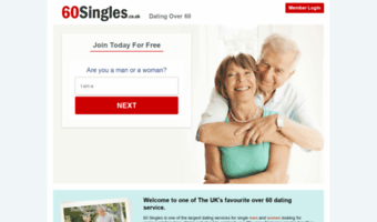 60 dating website