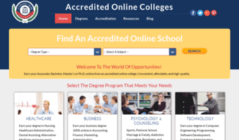 Accredited Online Colleges >> Accredited Online Colleges Com Observe Accredited Online