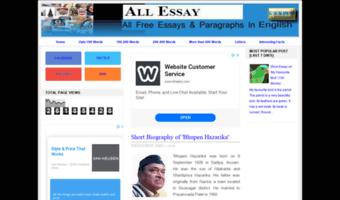 All-essay blogspot in ▷ Observe All Essay Blogspot News | All Essay