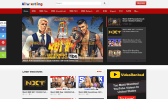 Allwrestling org ▷ Observe All Wrestling News | Watch Free