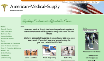 new product 6a301 e6b18 American-medical-supply.com