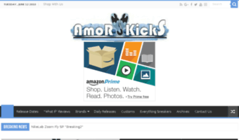 big sale 79afd 34609 Amorkicks.com ▷ Observe Amor Kicks News   AmorKicks – Everything ...