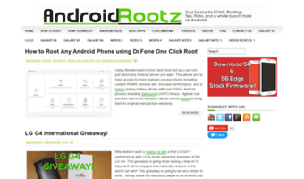 Androidrootz com ▷ Observe Android Rootz News | Source for