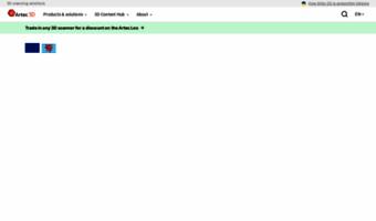 Artec3d com ▷ Observe Artec 3D News   Professional 3D Scanners