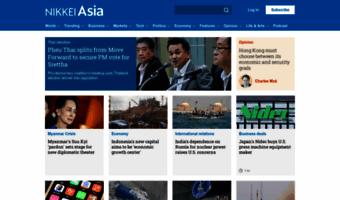 Asia Nikkei Com Observe Asia Nikkei News Business Politics Economy And Tech News