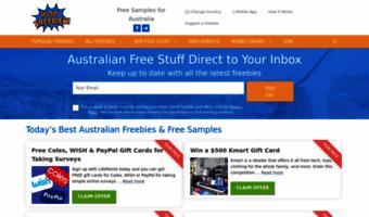 Free stuff australia by mail