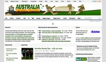 Aussportsbetting promotions companies thiriez nasser arbitrage betting