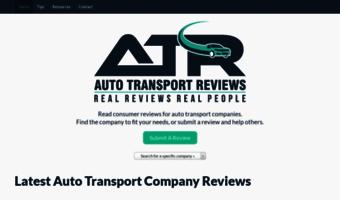 Car Transport Reviews >> Autotransportreviews Com Observe Auto Transport Reviews