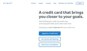 Personal Loans 600 Credit Score >> Avantcredit Com Observe Avant Credit News Personal