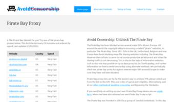 piratebayproxy org browse