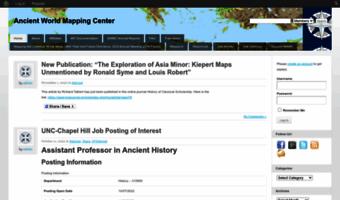 Awmc.unc.edu ▷ Observe Awmc Unc News | Ancient World Mapping Center