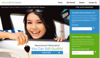 Bad Credit Car Dealerships >> Badcreditcardealers Com Observe Bad Credit Car Dealers