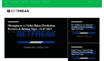 Betfreak net ▷ Observe Betfreak News | Betting Picks & Soccer