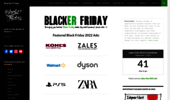 ▷ Observe Blacker Friday News | Black