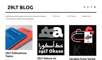 Blog 29lt com ▷ Observe BLOG 29LT News | We type design