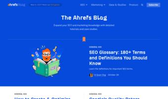 Blog ahrefs com ▷ Observe Blog Ahrefs News   SEO Blog by Ahrefs