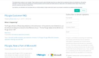 Blog fslogix com ▷ Observe Blog FSLogix News | Solutions