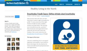 Blog northernhealth ca ▷ Observe Blog Northern Health News