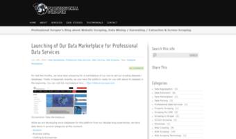 Blog proscraper com ▷ Observe Blog Pro Scraper News | Web Scraping