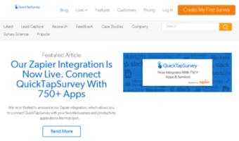 blog quicktapsurvey com observe blog quick tap survey news