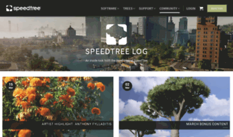 Blog speedtree com ▷ Observe B Log Speed Tree News | SpeedTree Log