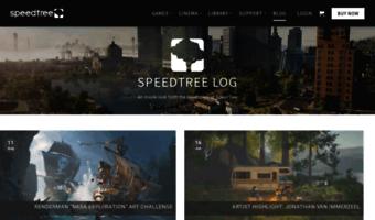 Blog speedtree com ▷ Observe B Log Speed Tree News   SpeedTree Log