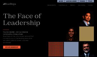 bluesteps com observe blue steps news executive search connect