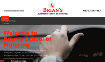 briansdrivingschoolsouthend.co.uk