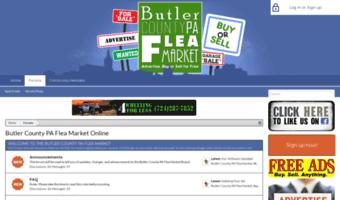 Butler pa flea market
