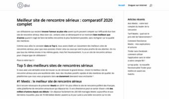 sites rencontres 2020