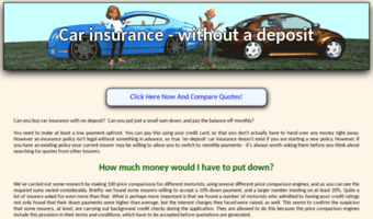 Carinsurancedeposit Co Uk Observe Car Insurance Deposit