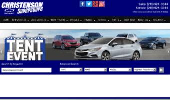 Christensonchevy Com Observe Christenson Chevy News Used Cars For Sale Near Schererville In Christenson