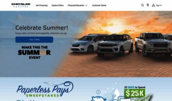 Chrysler Capital Finance >> Chryslercapital Com Observe Chrysler Capital News