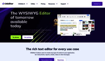 Ckeditor com ▷ Observe CKEditor News | Smart WYSIWYG HTML