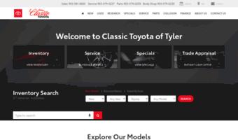 Used Car Dealerships Tyler Tx >> Classictoyotatyler Com Observe Classic Toyota Tyler News