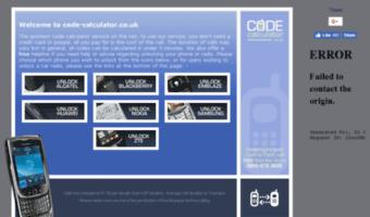 Code-calculator co uk ▷ Observe Code Calculator News   Code