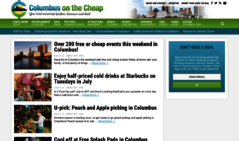 columbusonthecheap.com
