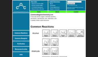 Commonorganicchemistry com ▷ Observe Common Organic