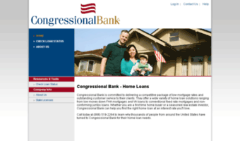 congressionalbank.mortgage-application.net